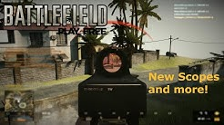 Battlefield Play4Free - New Scopes and updates! (German/English)