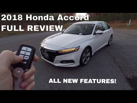 2018 Honda Accord Touring In-Depth Review - Inside & Out