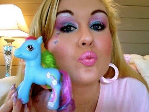 Rainbow Dash Makeup 🌈 My Little Pony