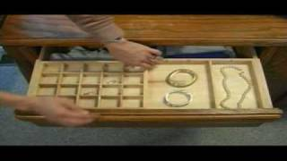 Expandable Jewelry Drawer Organizers, Items #410 & 142