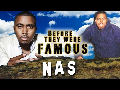 NAS – Before They Were Famous – Nasir Jones