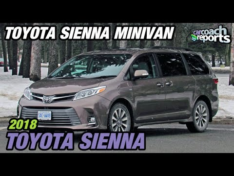 2018 toyota sienna the only minivan with awd youtube