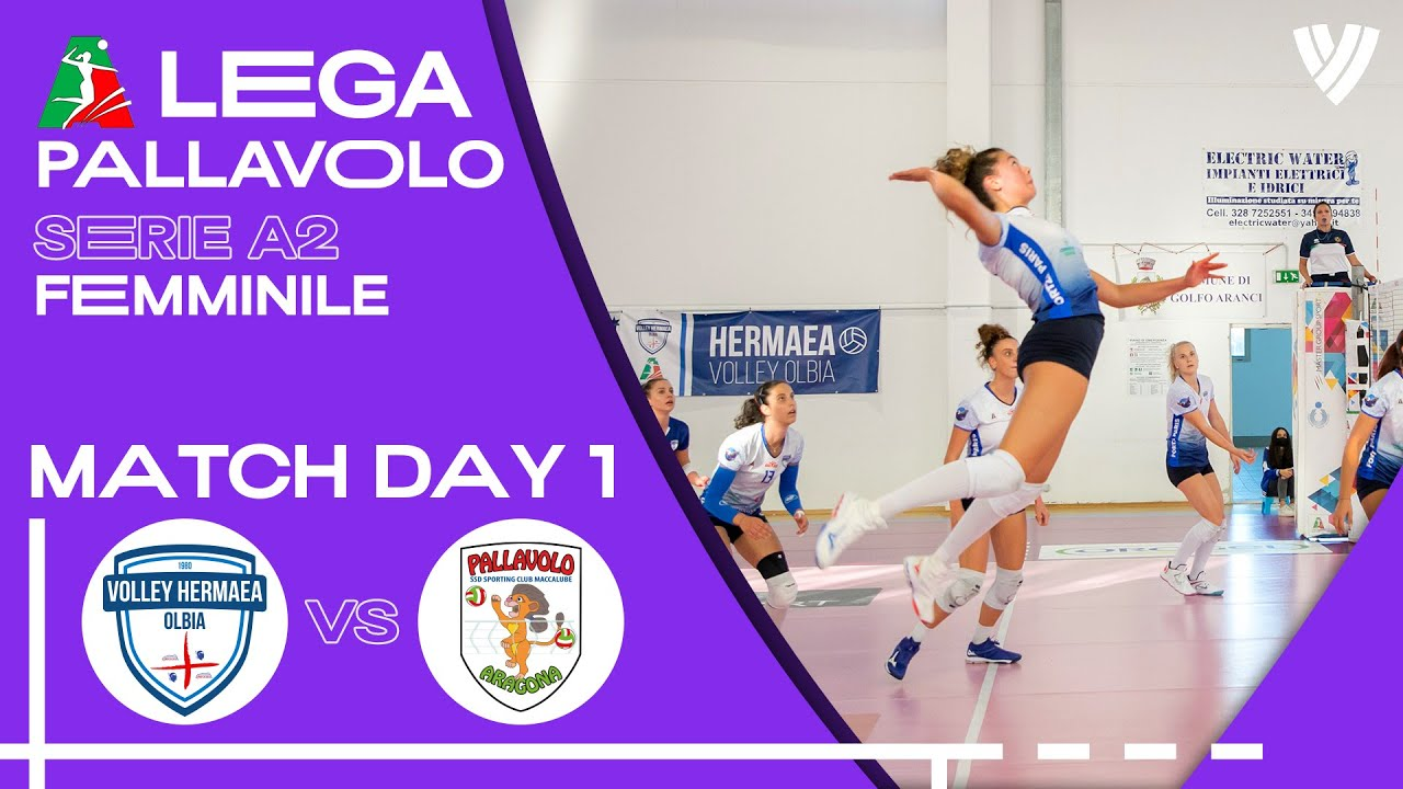 Olbia vs. Seap Dalli Cardillo - Full Match | Women's Serie A2 | 2021