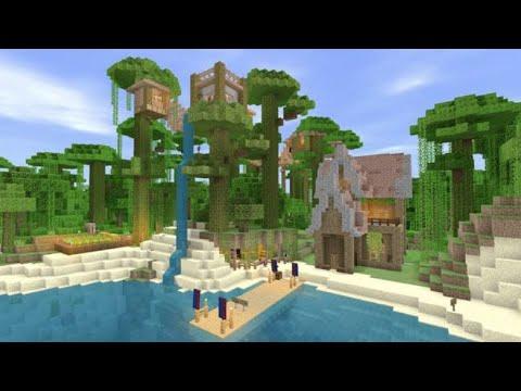 minecraft jungle village map