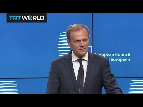 Donald Tusk's speech after UK officially triggers Brexit process