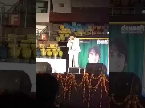 Prashant singh dewsoft in talkatora stadium fabulous song