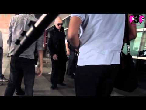 Pitbull arrives in Delhi.mp4