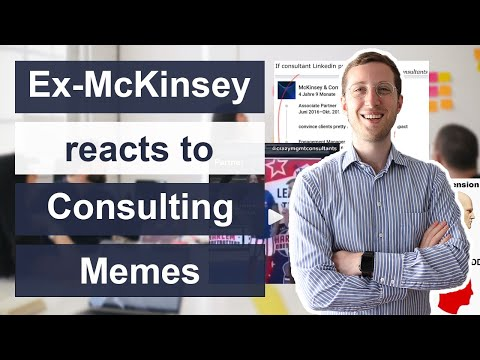 What do Consultants actually do? Consultant reacts to Consulting Memes