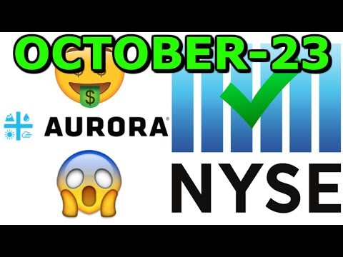 Aurora cannabis ACB Listed On The NYSE ( New York Stock Exchange)  - MPX merging with IAN