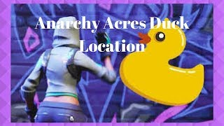Fortnite: WEEK 3 * Anarchy Acres Rubber Ducky Location *