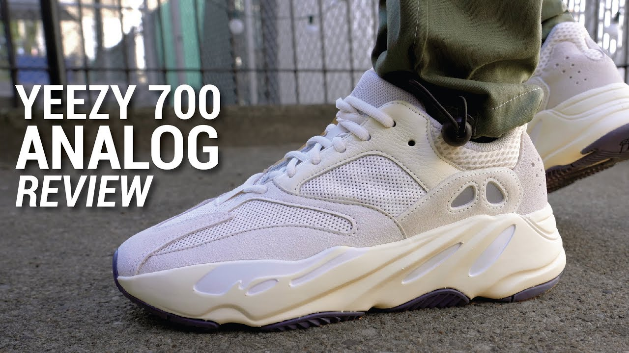 e2481ad202fec Adidas YEEZY Boost 700 Analog Review   On Feet - YouTube