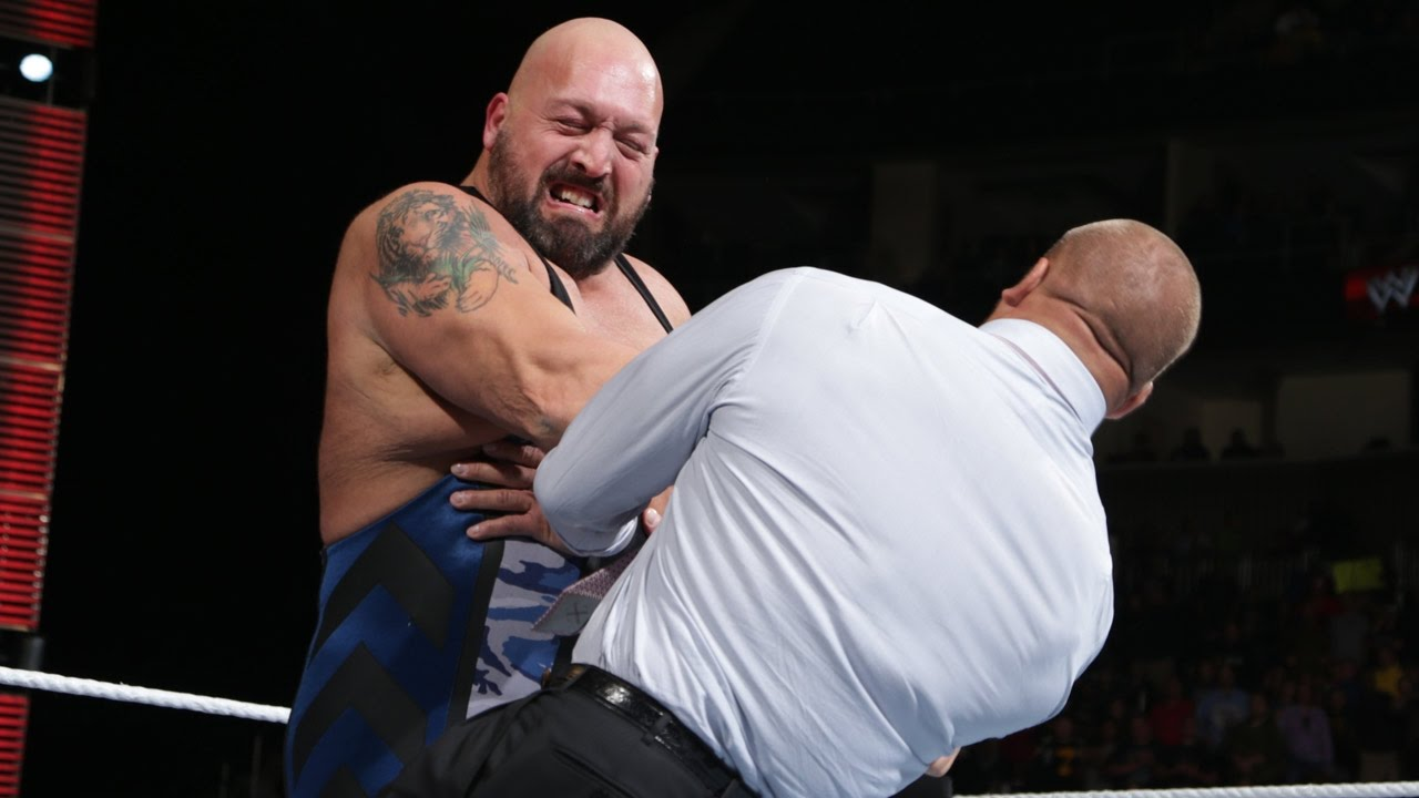 Big Show Knocks Out Triple H: Raw, October 7, 2013 - YouTube