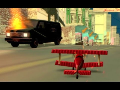 GTA San Andreas, PS4: Supply Lines Mission The Easier Way. Completion Hints, Help Guide.