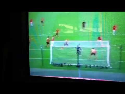 Kieran Gibbs FA Cup Final Horrific miss