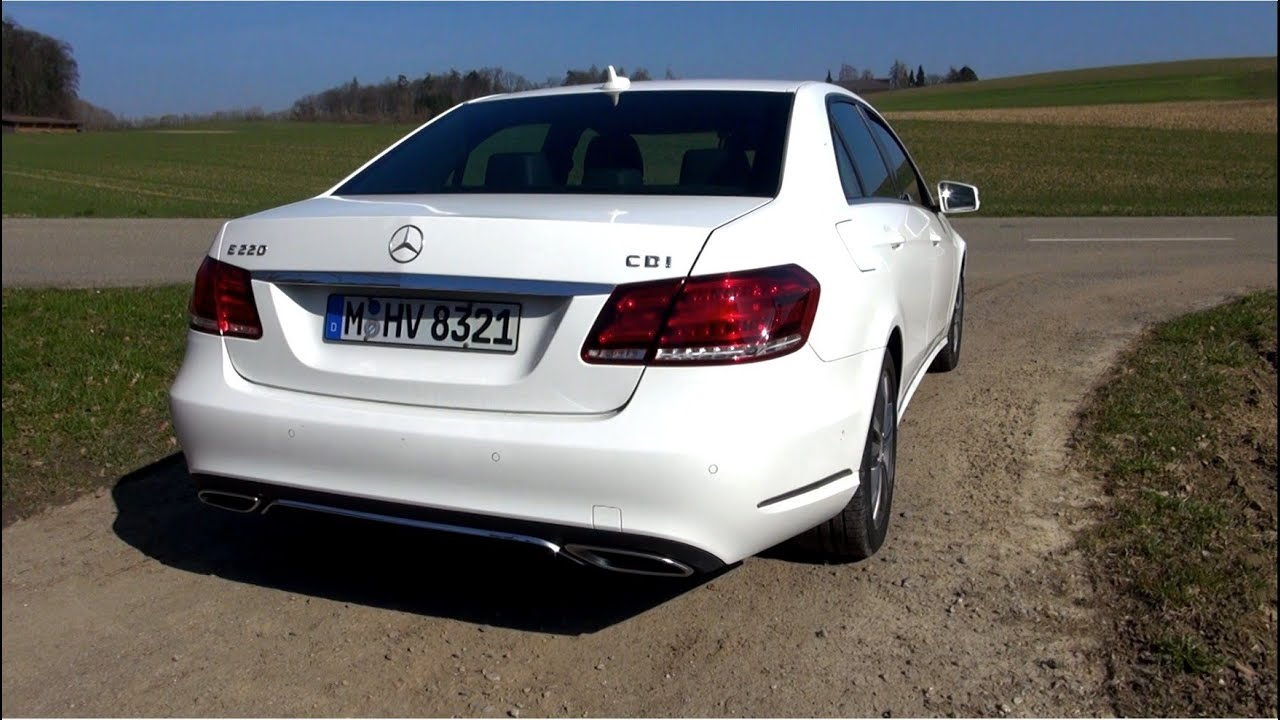 2014 mercedes e 220 cdi facelift test drive youtube