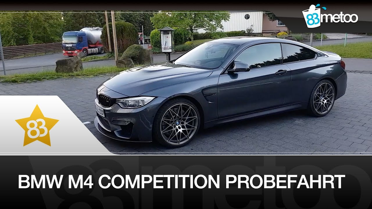 Bmw M4 Competition Probefahrt Bmw M4 Competition Paket Sound Bmw