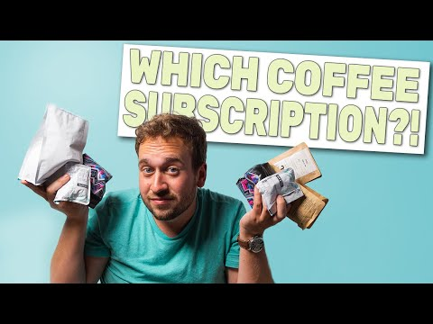 Coffee Subscription Box Comparison - Which is the Best?!