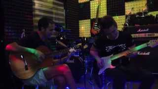 Rex Chow - Flamenco Style Jamming with Spanish guitarist (2014 August)