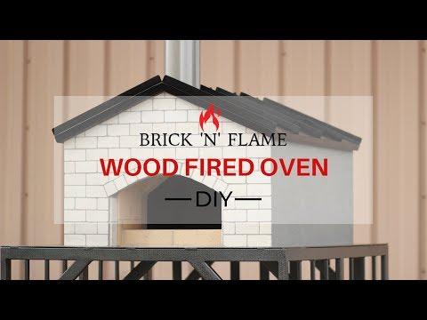 Brick 'N' Flame Wood Fired Oven DIY