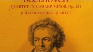 Beethoven String Quartet No.14 in C-sharp minor, Op.131 (2nd Movement)