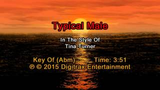 Tina Turner - Typical Male (Backing Track)