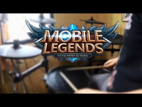 Mobile legend theme song (drum cover)