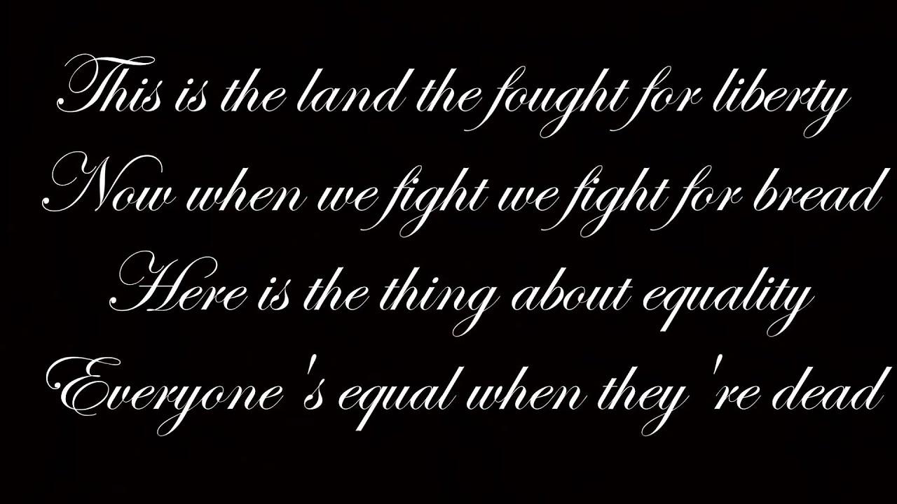 Les Misérables - Original London Cast Song Lyrics ...