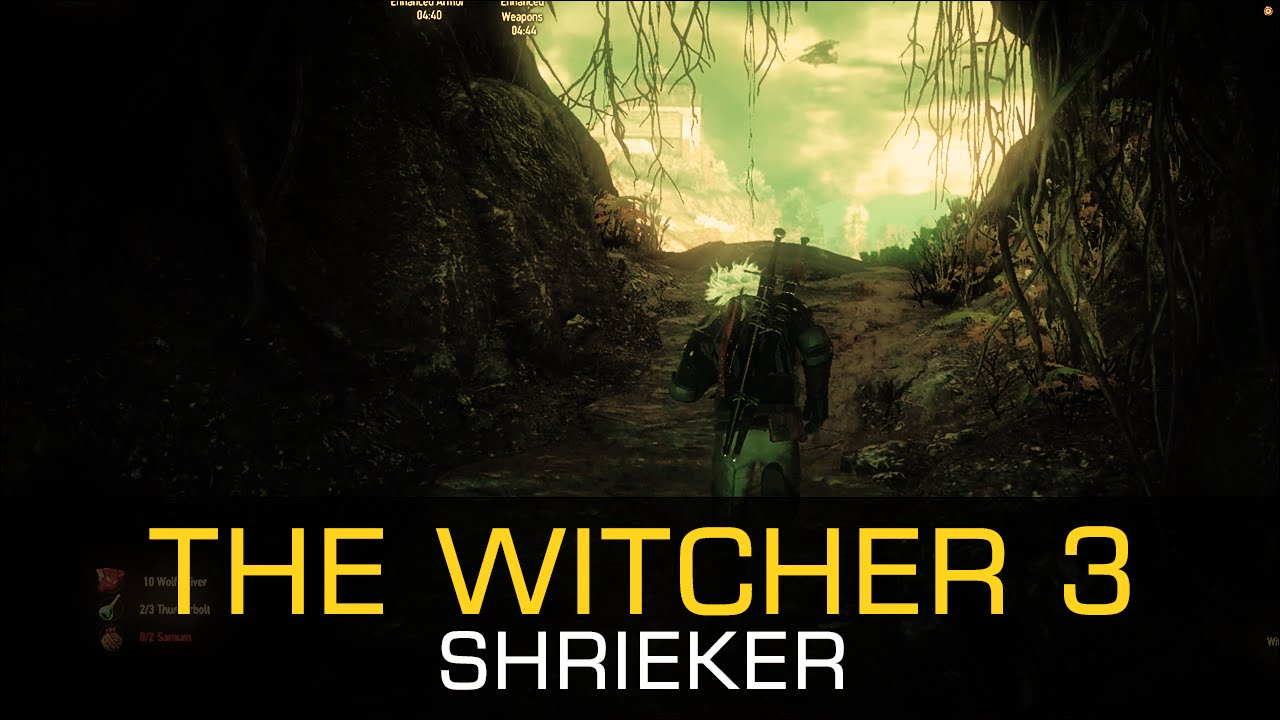 Shrieker CONTRACT DWARVEN AXE RELIC WEAPON COCKATRICE TROPHY - The Witcher 3 Wild Hunt Gameplay ...