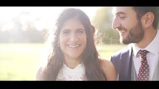 Amy & Khalil - The Wedding Video at Brookfield Barn