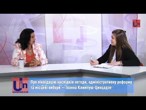 Про ліквідацію наслідків негоди, адміністративну реформу та місцеві вибори — Іванна Климпуш-Цинцадзе