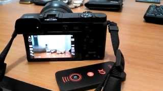 Remote Wireless SONY NEX A6000 A7 NEX5 NEX6 NEX7 ALPHA A55 A57 A65 A77 InfraRed RC Shutter