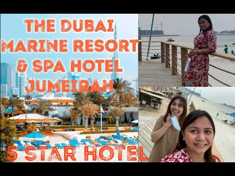 Dubai Marine Resort & Spa Hotel | Amazing 5 star Hotel🤩| Review Hotel in Dubai | Nikka Orpiano