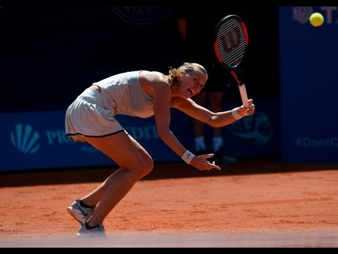 Petra Kvitova | 2018 Prague Final | Shot of the Day