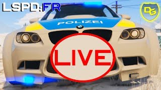 « Perfor-M-ance Streife » - GTA 5 LSPD:FR Live - Daniel Gaming