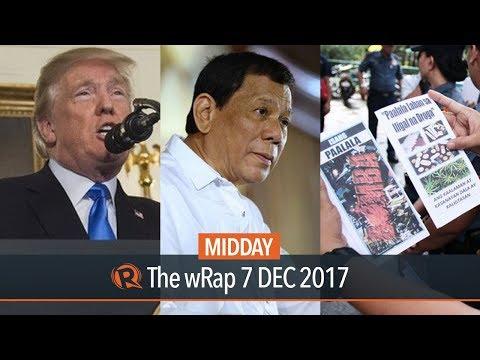 Duterte on NDF, New War on Drugs...