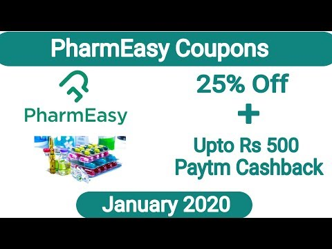 PharmEasy Coupon Code January 2020 | Medicine Offers & Coupons | PharmEasy Latest Offers