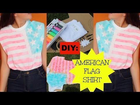 DIY: American Flag Shirt!
