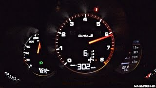2016 porsche 991 turbo s mk2 launch control 0 302km h acceleration