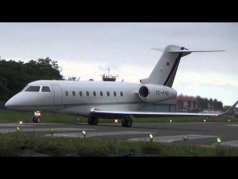 Gulfstream G280 (TC-KHD) takeoff EAS/LESO (28/06/2015)