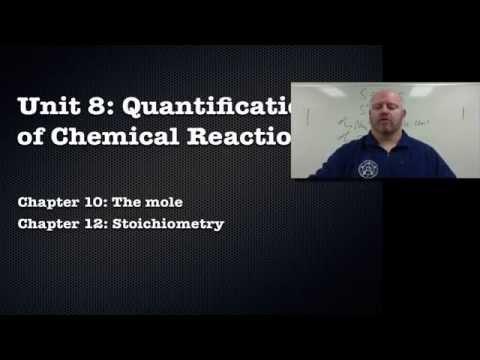 Unit 08 Segment 1: The Mole and Molar Mass
