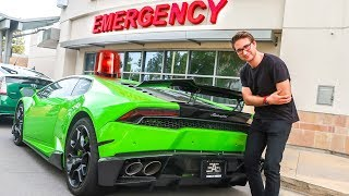 MAKING MY LAMBORGHINI AN AMBULANCE!!!