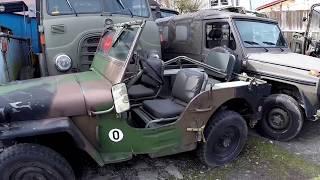 Expeditionsfahrzeuge Armee + Militär Philipp Hanfbachtal 05 2017