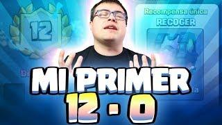 MI PRIMER 12-0 EN DESAFÍO | Clash Royale
