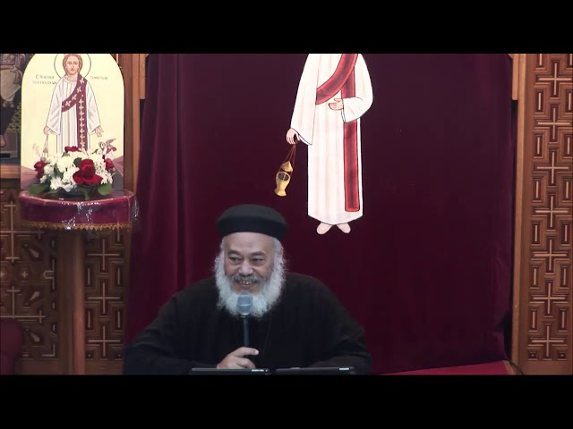 Song Of Songs Part_9 (Arabic Bible Study) Fr. Raphael Hanna