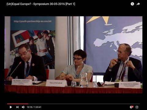 (Un)Equal Europe? - Symposium 30-05-2016 [Part 1]