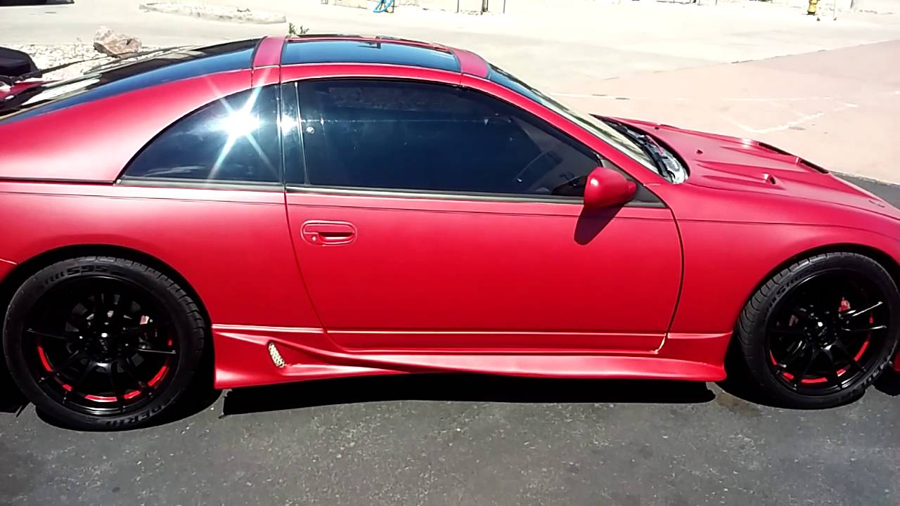 300zx Red Wrap Youtube