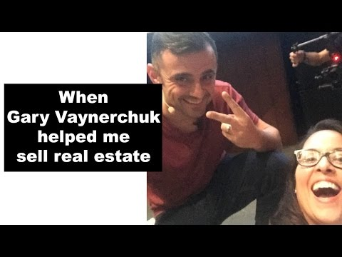 When Gary Vaynerchuk helped me sell real estate  | Lisa in the city