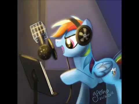 Rainbow dash - Stamp on the ground