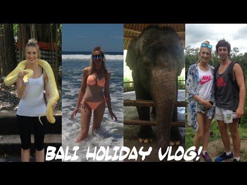 Bali Holiday Vlog 2015-2016! ♡ New Years, Shopping, Rock Bar, Afrojack Live, Ubud Tour & Kuta Beach!