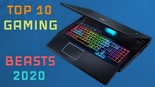 Top 10 Amazing Gaming laptops to buy in 2020!